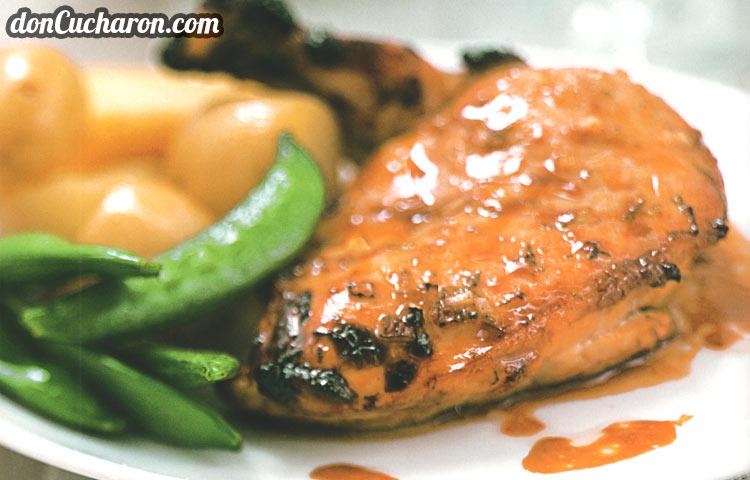 Receta de Cocina paso a paso: Pollo Lacado