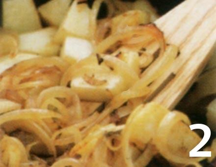 Preparacion de Receta de Cocina: Tortilla Española Sana - Paso 2
