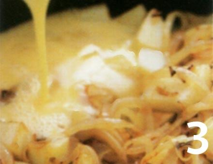 Preparacion de Receta de Cocina: Tortilla Española Sana - Paso 3