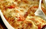 Preparación de Gratinado de Tomates y Mozzarella