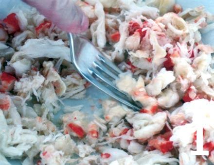 Preparacion de Croquetas de Cangrejo - Paso 1
