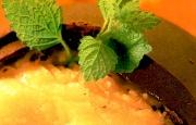 Preparación de Sorbete de Naranja al Chocolate