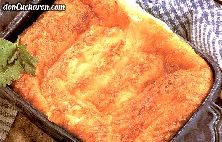 Receta de Cocina paso a paso: Soufflé de Pan y Mantequilla