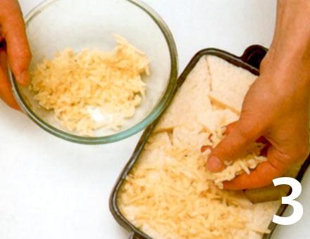 Preparacion de Receta de Cocina: Soufflé de Pan y Mantequilla - Paso 3