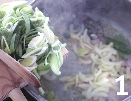 Preparacion de Mejillones al Vino Blanco - Paso 1