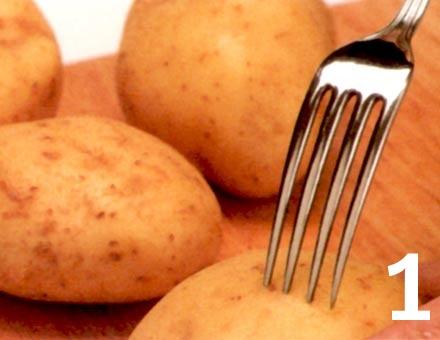 Preparacion de Receta de Cocina: Papas con Pimentón - Paso 1