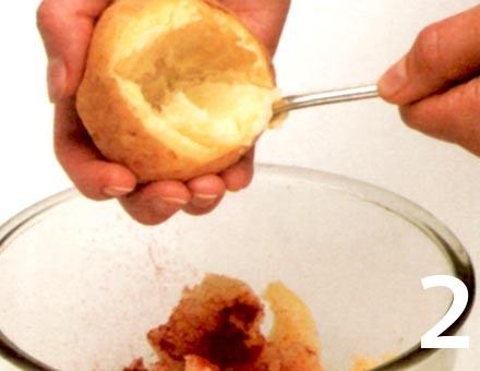 Preparacion de Receta de Cocina: Papas con Pimentón - Paso 2