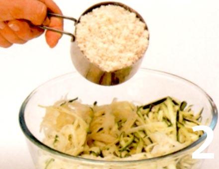 Preparacion de Receta de Cocina: Croquetas crujientes de Verduras - Paso 2
