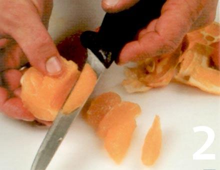 Preparacion de Receta de Cocina: Gelatina de Naranja - Paso 2