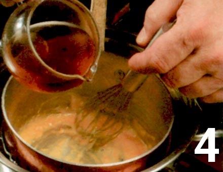 Preparacion de Receta de Cocina: Gelatina de Naranja - Paso 4
