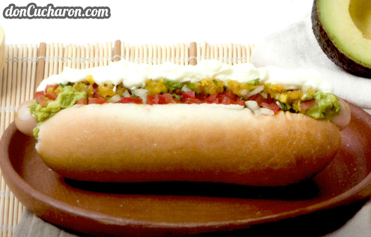 Receta de Cocina paso a paso: Hot Dog Dinámico