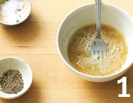 Preparacion de Receta de Cocina: Tortilla Rápida - Paso 1