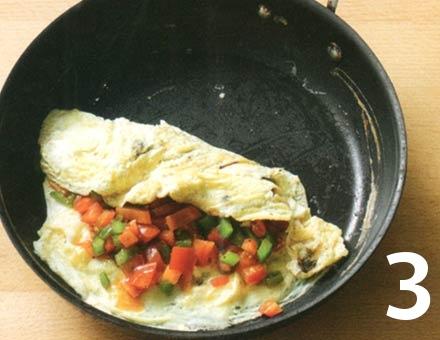 Preparacion de Receta de Cocina: Tortilla Rápida - Paso 3