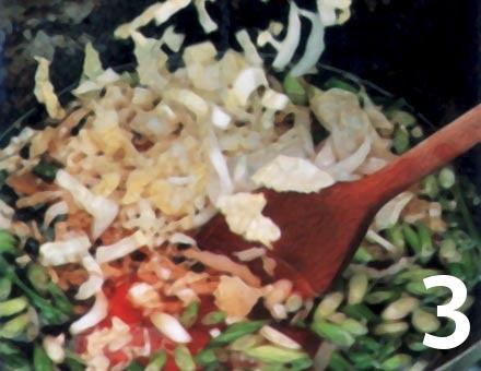 Preparacion de Sopa China de Verduras - Paso 3