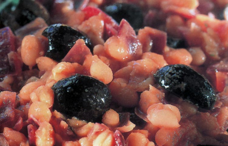 Receta de Cocina paso a paso: Porotos al Estilo Griego