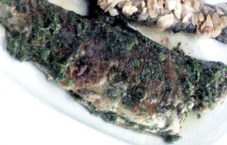 Receta de Cocina paso a paso: Trucha a la Molinera