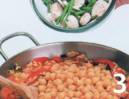 Preparacion de Paella de Verduras - Paso 3