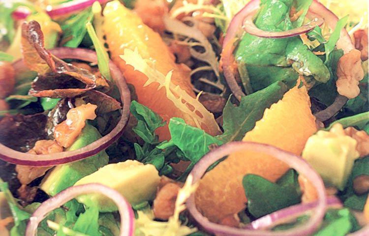 Receta de Cocina paso a paso: Ensalada de Palta y Rúcula