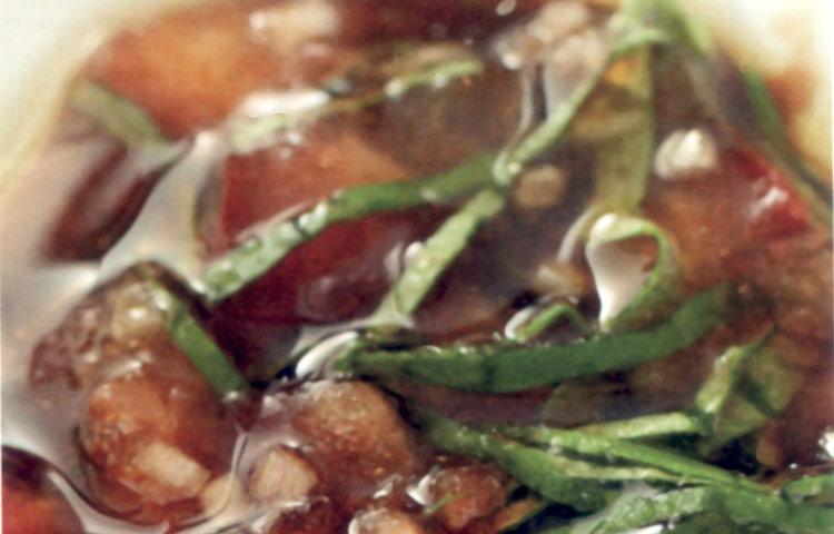 Receta de Cocina paso a paso: Vinagreta de Tomate