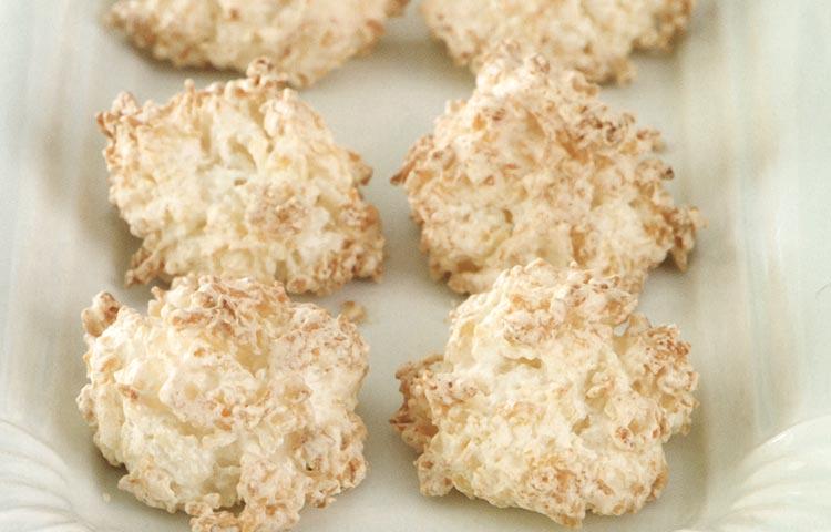 Receta de Cocina paso a paso: Macaroons de coco