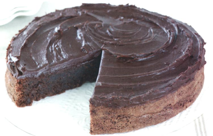 Receta de Cocina paso a paso: Torta de chocolate y almendras