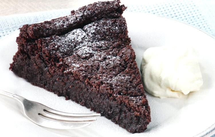 Receta de Cocina paso a paso: Torta de mousse de chocolate