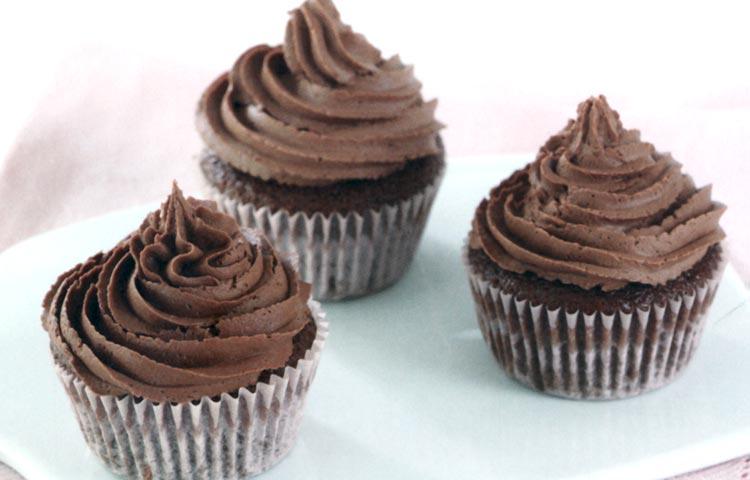 Receta de Cocina paso a paso: Cupcakes de Chocolate