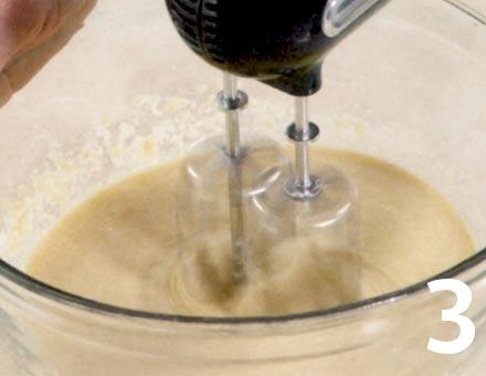Preparacion de Cupcakes de Café y Nueces - Paso 3