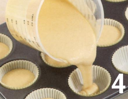 Preparacion de Cupcakes de Café y Nueces - Paso 4